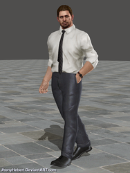Chris Redfield - Formal Clothing by JhonyHebert