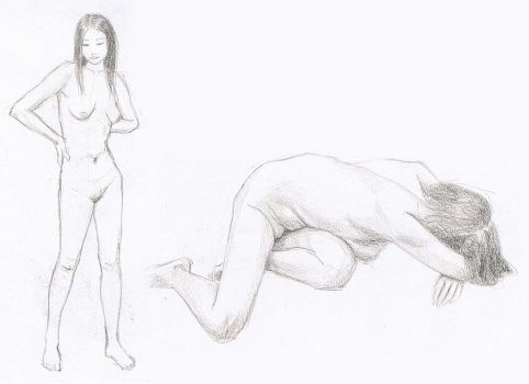 Life Drawing Week 2 by Aerythes