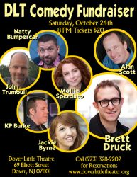 Dover Little Theatre Comedy Fundraiser - Oct. 2015 by johntrumbull