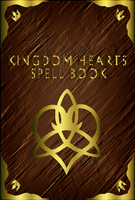 Kingdom Hearts Spell Book - Cover - by WeapondesignerDawe