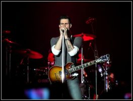 Adam Levine from Maroon 5 by Lyrks