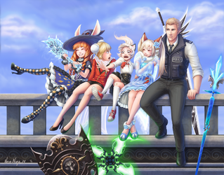 Tera Group by NecroNinja34
