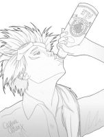 Reno - Axel WIP by the-caffeine-queen