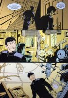 Comic page: Pencilled, inked and coloured by racsmany