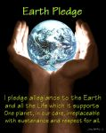 Earth Pledge by CosmoWonderly