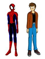 Peter and Spidey (Remake) by streetgals9000