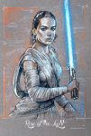 Rey - Star Wars Force Awakens - By Alex Buechel