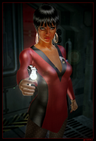 Alternate Universe Uhura 02 by mylochka