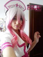 Super Sonico Nyah by LuffySwan