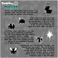 Pacapillars - Monster Manual: Minmites by toripng