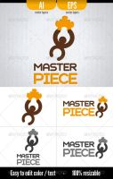 Master Piece - Logo Template by doghead