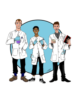 Scientists by jessica-doessing