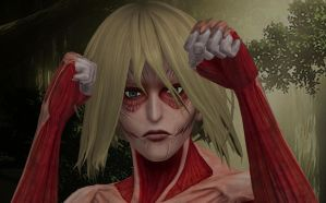 The Female Titan // Attack on Titan by SweetScarletSky