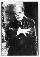 Phantom of the Opera 1925 Lon Chaney by TimGrayson