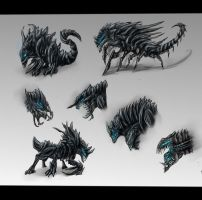 Sovereign Swarm Hound - Alternative Designs by SwarmCreator