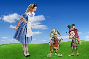 Alice And Friends by Roy3D