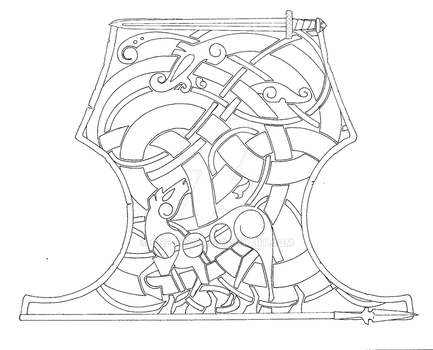 Bracer design for Ryan by one-rook