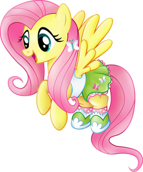 Fluttershy Equestria Girls casual clothes. by BeamSaber