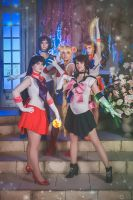 Sailor Planet Attack by LoveSenshi