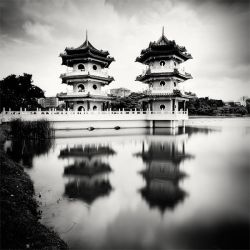 Singapore Twin Pagodas by xMEGALOPOLISx
