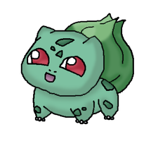 .:Cute Bulbasaur:. by drifblim