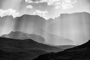 The Drakensberg by carlosthe