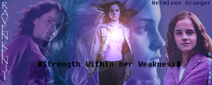 Hermione Banner by EverythingMagic