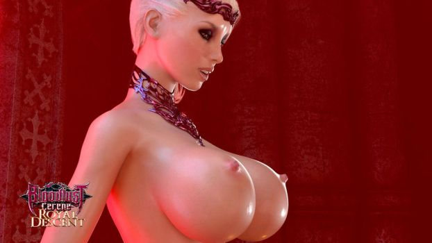 Bloodlust: Cerene: Side Boobage by affect3d-com