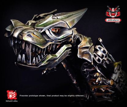 TRANSFORMERS AOE LEADER GRIMLOCK REPAINT MP 03 by wongjoe82