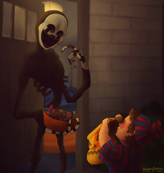 Trick or Treat by wilyskytreader