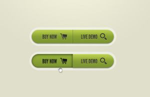 Call To Action Button PSD by pixelentity