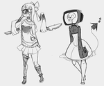 Monster Girl batch dropouts by Ryis