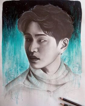 #10YearsWithSHINee - Onew by Art-Ablaze