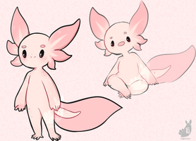 [C] axolotl custom by Lighterium