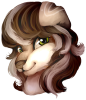 Painting bust for Zoeygirl9000 by axolotlshy