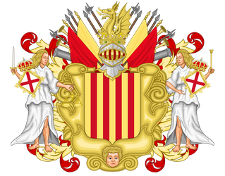 Coat of arms Catalonia by TiltschMaster
