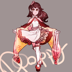 [OPEN] Adopt Love $4 by paper-poppy