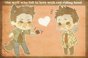 :: The Wolf and Red Riding Hood :: by ReTrO-BliTZ