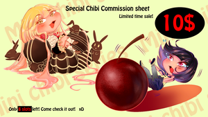 Super Cheap Chibi Commissions - Limited time sale! by Rica-Sensei