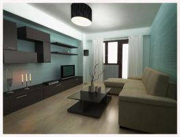 small living room by raaab