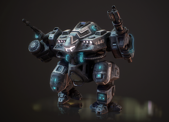 Prexident Mech by ChristianKarling