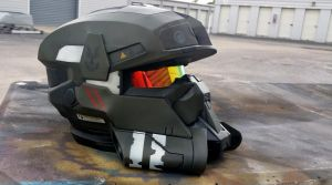 Halo EOD Helmet Replica v3 by JohnsonArmsProps