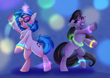 Late Night Ravin' by ShyShyOctavia
