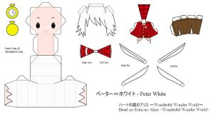 HnKnA PaperCraft - Peter White by Larry-San