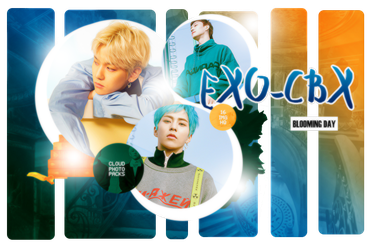 416| EXO-CBX (BLOOMING DAY) PHOTOPACK by CloudPhotopacks