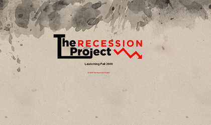 The Recession Project by causticgit