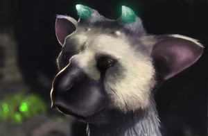 Trico (The last guardian) by Istrandar