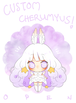 custom cherumyu commissions | open by Hacuubii