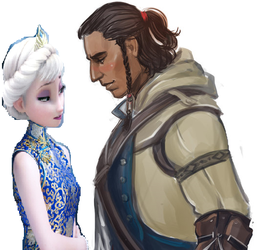 Elsa and Connor by iamnater1225