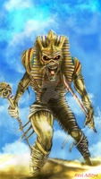 POWERSLAVE by adityaresee